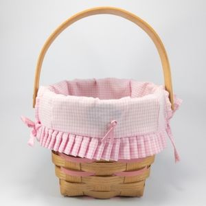 Pretty in Pink Peterboro Small Basket